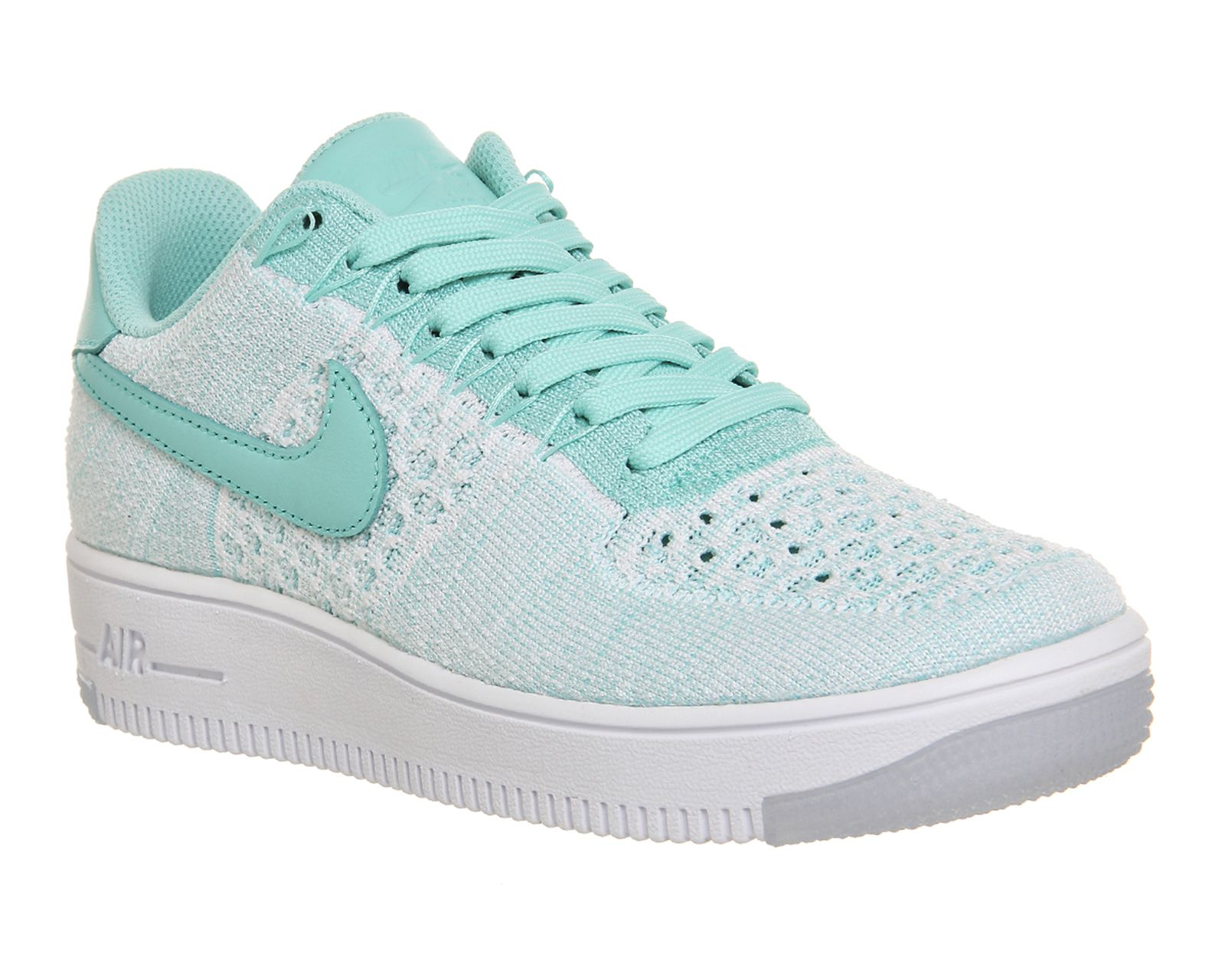 women's nike white air force 1 low trainers