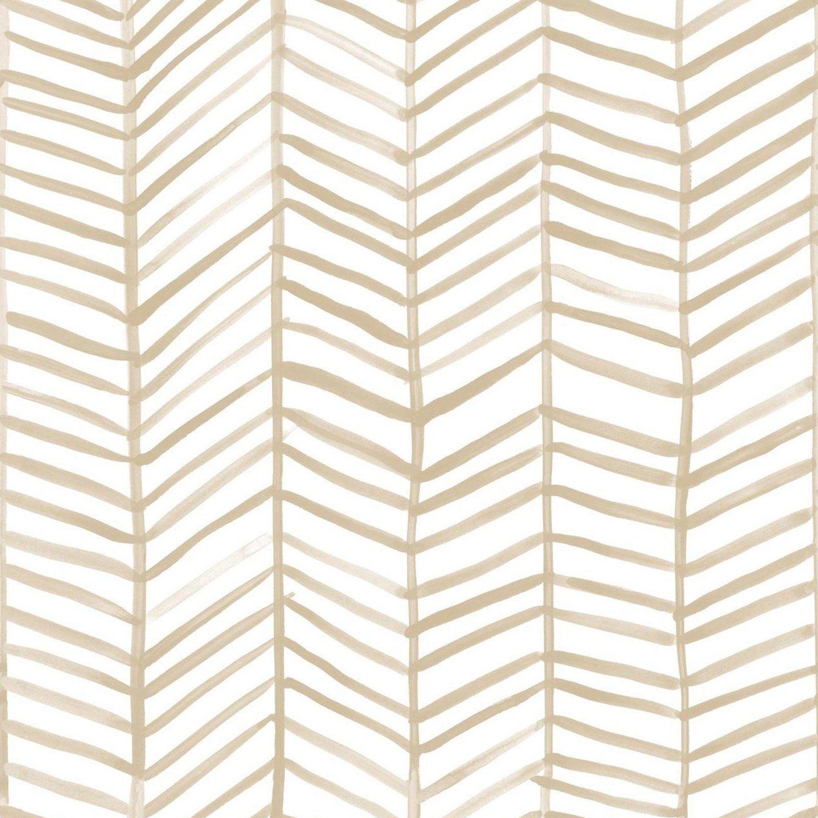 Roommates Herringbone Self Adhesive Wallpaper Tan Herringbone Wallpaper Peel And Stick Wallpaper Herringbone Wall