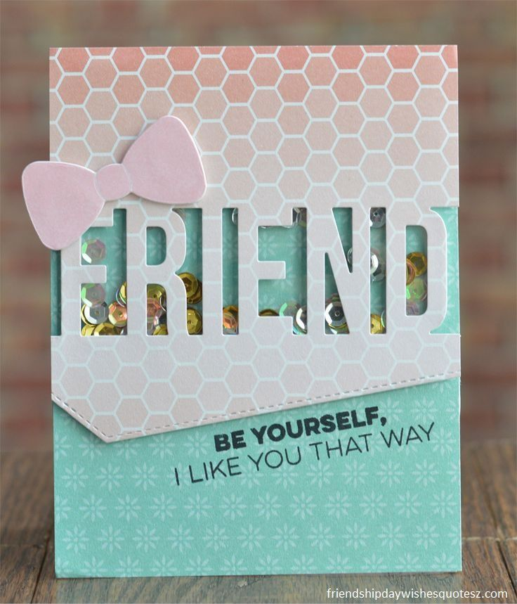 Delightful Friendship Day Card Making Ideas Part - 4: Amazing Special Friendship Day Greetings Cards
