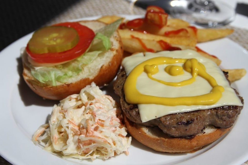 The Seven Best Cruise Ship Burger Restaurants   Oceania
