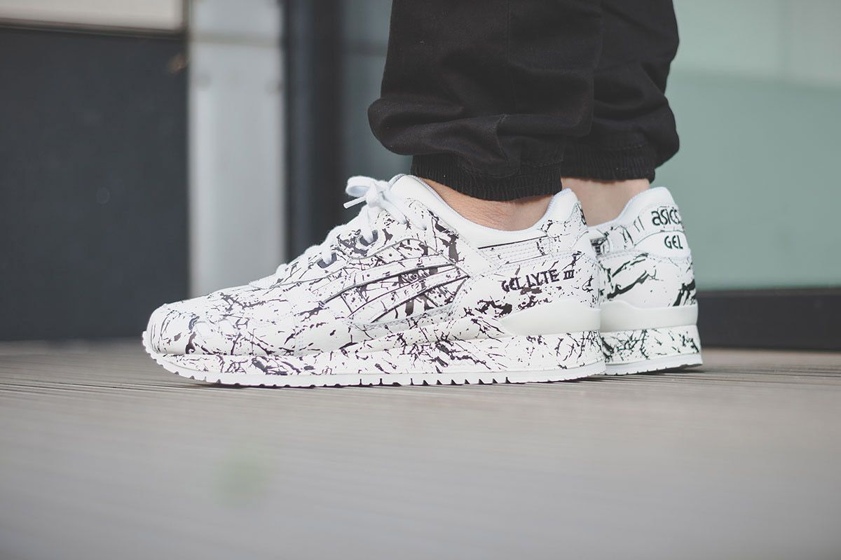 Asics Surprises Fans With The Gel Lyte Iii Marble Pack Sneakers