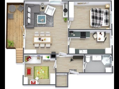 Draw Your First Floor Plan Pc Mac Youtube Modern House Plans House Plans House Blueprints
