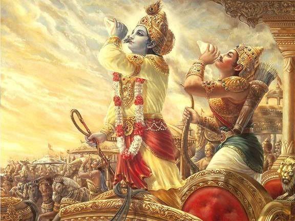 shankhnaad | KANHA in 2019 | Bhagavad gita, Lord krishna