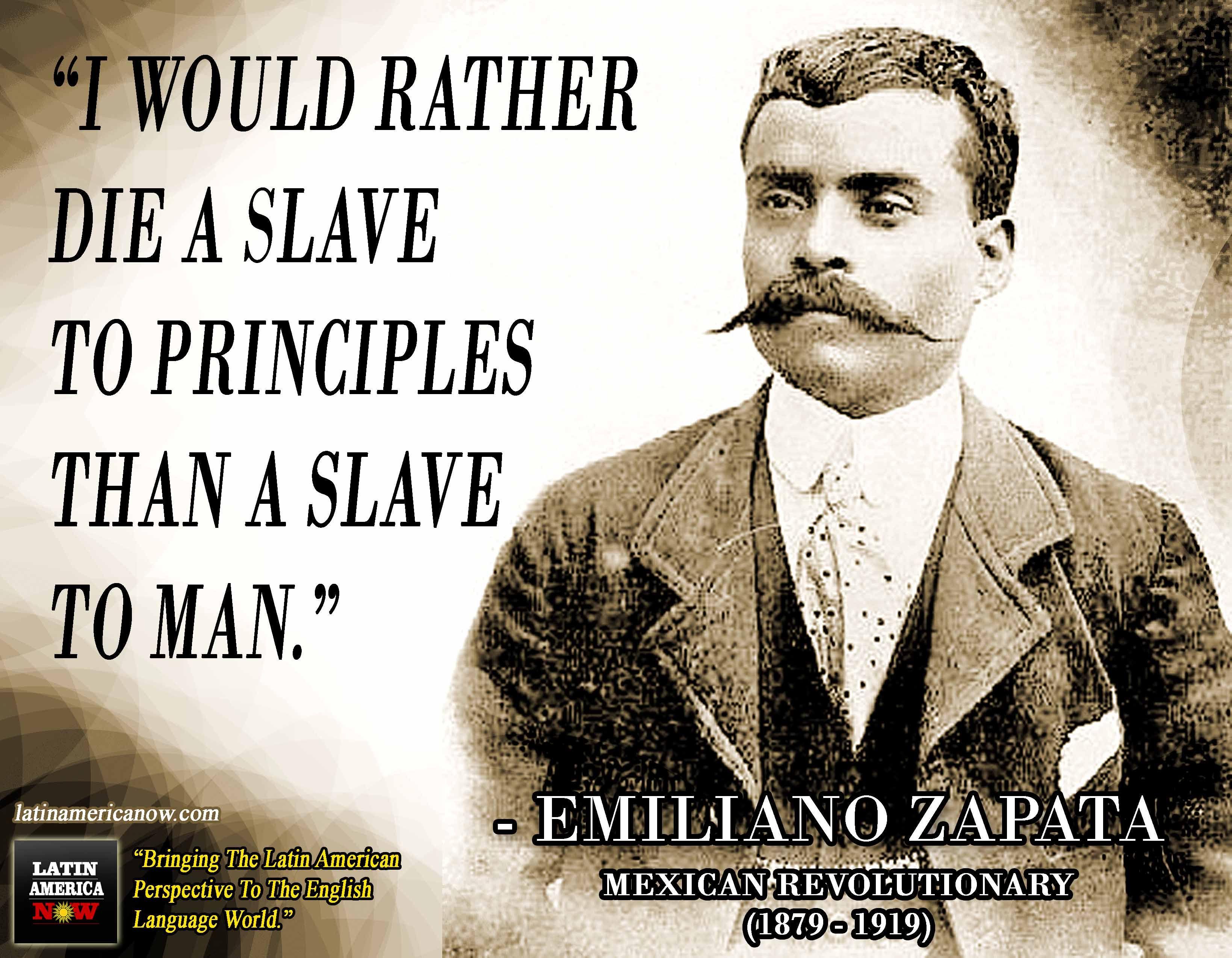 Emiliano Zapata Quotes Emiliano Zapata Quotes  Inspiration  Pinterest  Famous Quotes