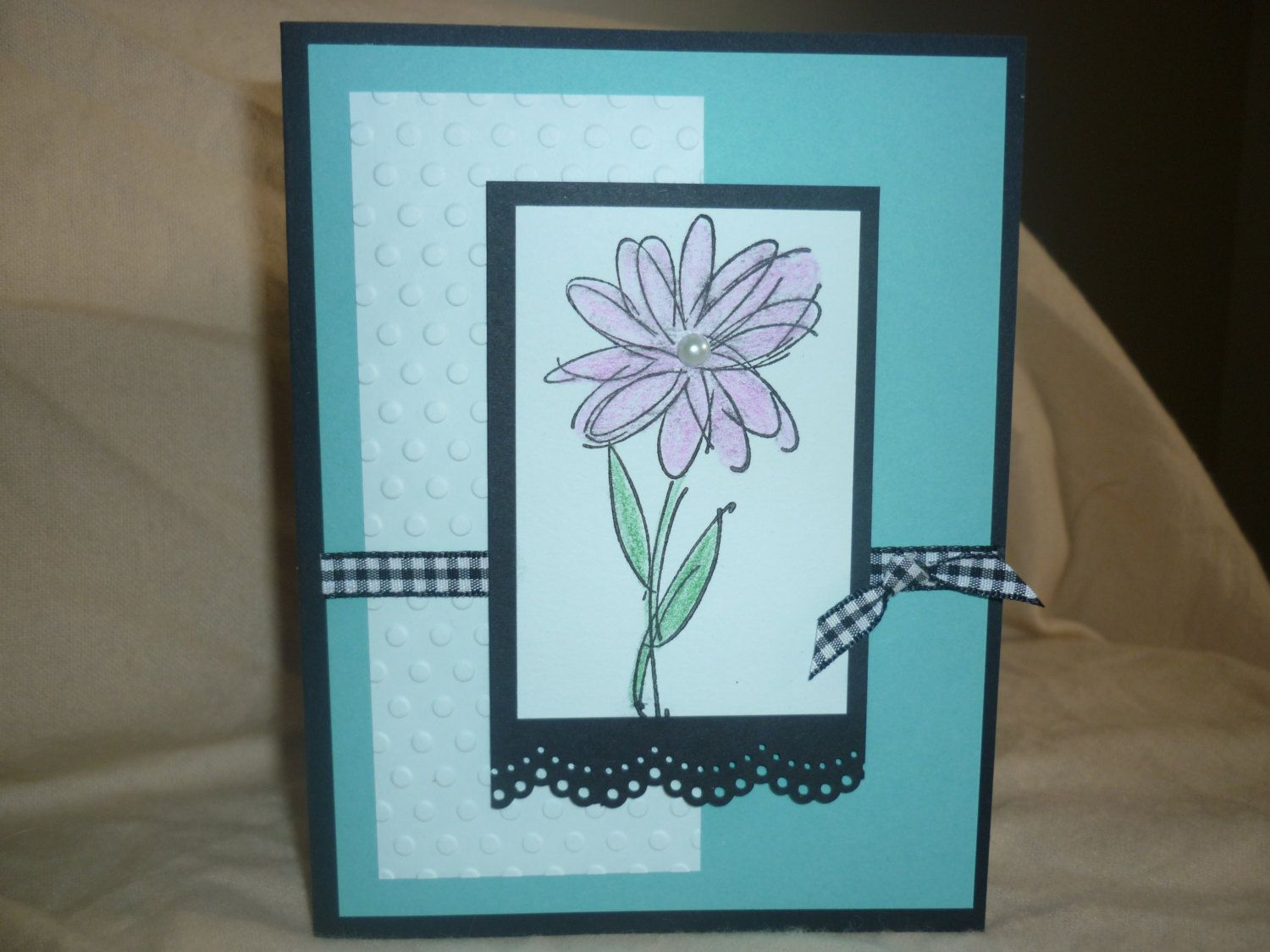 Handmade everyday card by Wrightcards on Etsy