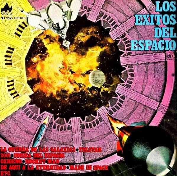 THE STUDIO GROUP - Los Éxitos Del Espacio (Nevada, 1978)