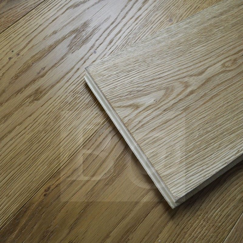 20mm Engineered Wood Flooring Natural French Oak Brushed Uv Oiled
