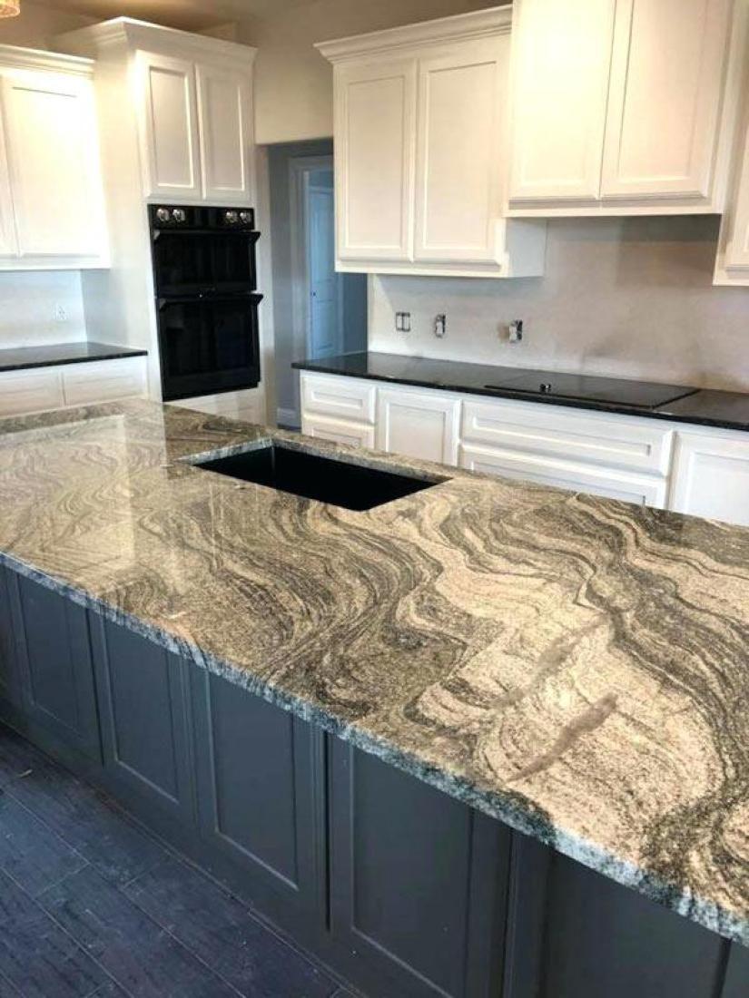 Ordinaire 31 Remarkable Kitchen Countertops Options #whitecabinets #subwaytiles  #butcherblocks #granite #stainlesssteel #islands #sinks #livingrooms  #spaces ...