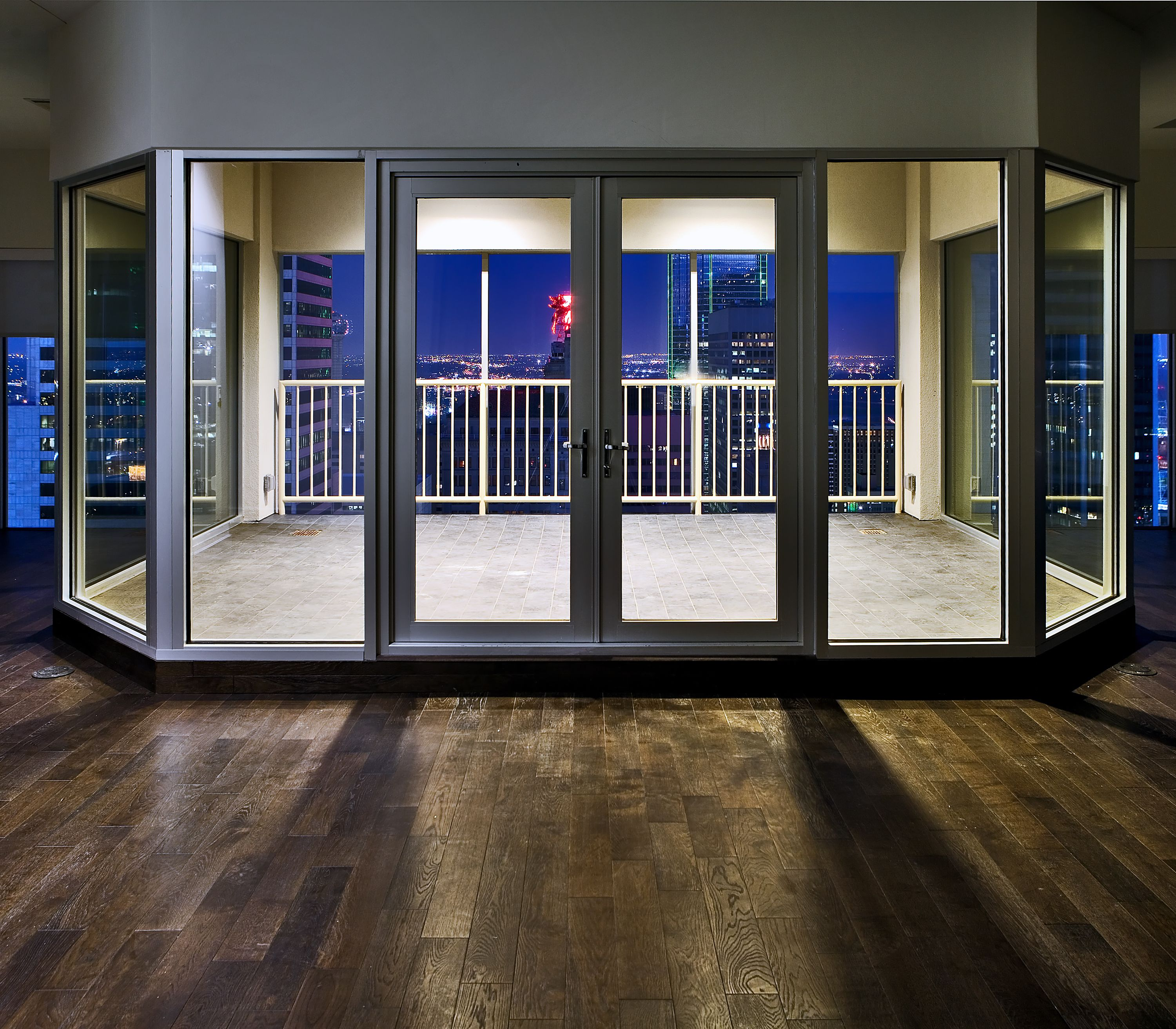 The Balcony At One Of Our Penthouses At The Merc At