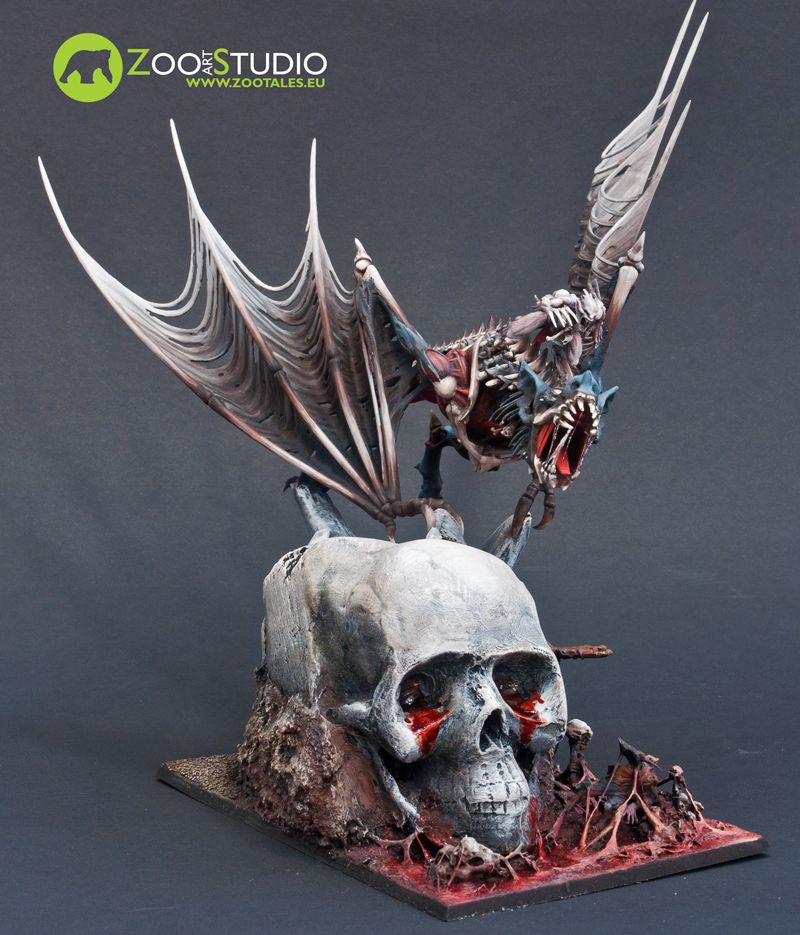 Terrorgheist | Diorama ideas | Vampire counts, Miniatures, Chainmaille