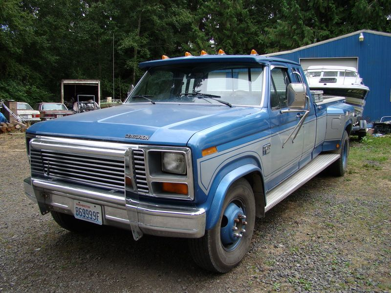 1984 Ford Diesel Centurion Dually Truck But mine was not diesel and did not have duel & 1984 Ford Diesel Centurion Dually Truck But mine was not diesel ... markmcfarlin.com
