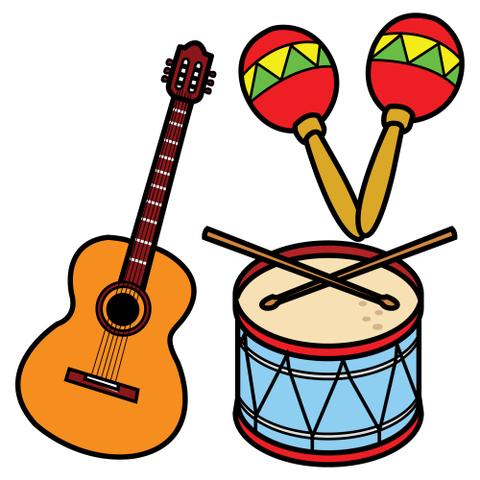 Trabajando En Educacion Infantil 10 Instrumentos Musicales Para Hacer Instrumentos Musicales Para Ninos Musicales Para Ninos Dibujos De Instrumentos Musicales