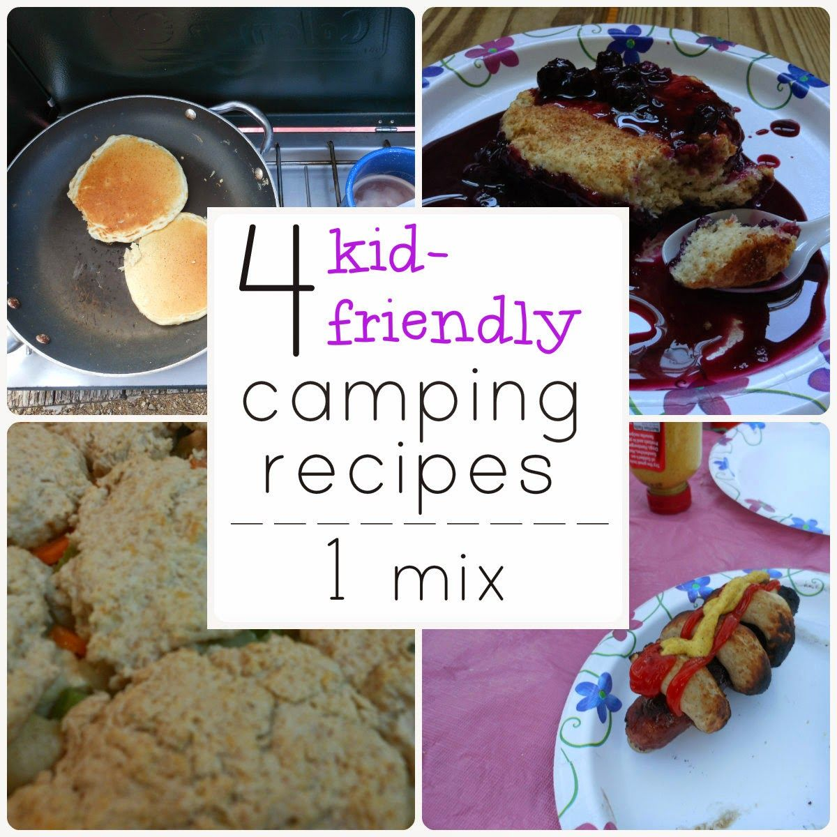 Mommy Loves Trees: 4 Kid-Friendly Camping Recipes Using 1