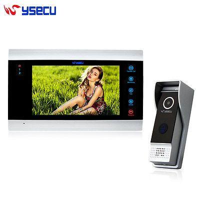 YSECU Touch Key DoorBell Wire Video Door Phone Home Intercom System IR Camera https://t.co/i0cclnUOj0 https://t.co/d7Rs9aFR9O