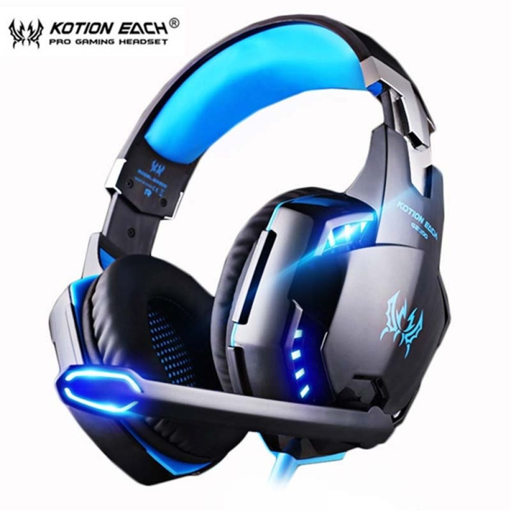 casque PS4 Gaming Headset PC Gamer Bass