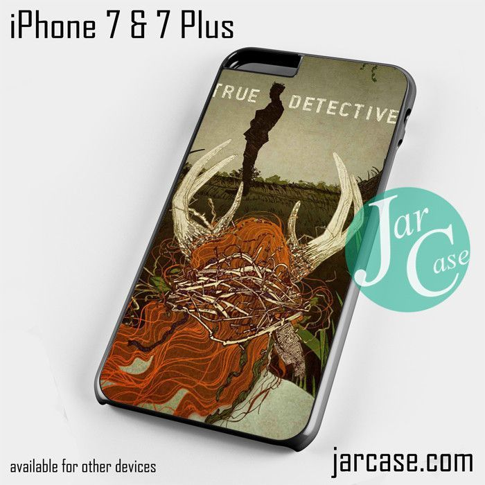 True Detective Art Cover Phone case for iPhone 7 and 7 Plus