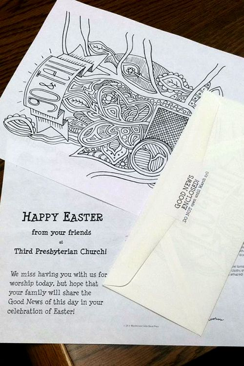 Creative Uses Of Easter S Alleluia Coloring Pages For Children