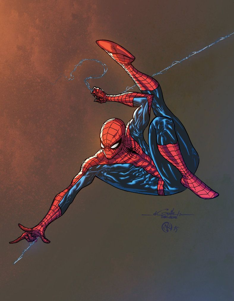 #Spiderman #Fan #Art. (Spidey - Color) By:ZethKeeper. (THE * 5 * STÅR * ÅWARD * OF: * AW YEAH, IT'S MAJOR ÅWESOMENESS!!!™)[THANK Ü 4 PINNING!!!<·><]<©>ÅÅÅ+(OB4E)