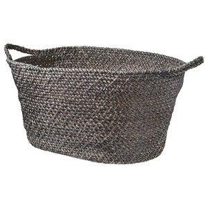 Threshold™ Bath Storage Basket - Gray (Large) : Target Mobile