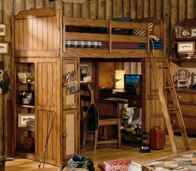 Lit mezzanine pour une chambre d ado originale lit - Chambre ado originale ...