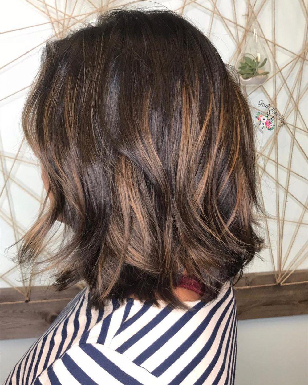 34 Sweetest Caramel Highlights On Light Dark Brown Hair Highlights For Dark Brown Hair Brown Hair With Caramel Highlights Hair Highlights