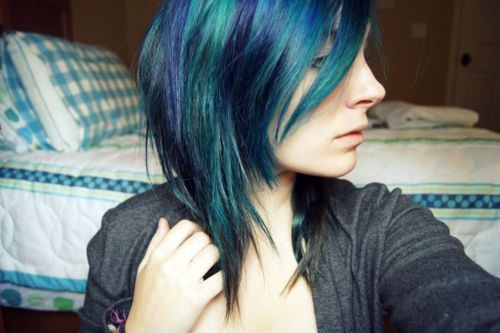 Different Color Hair Tumblr