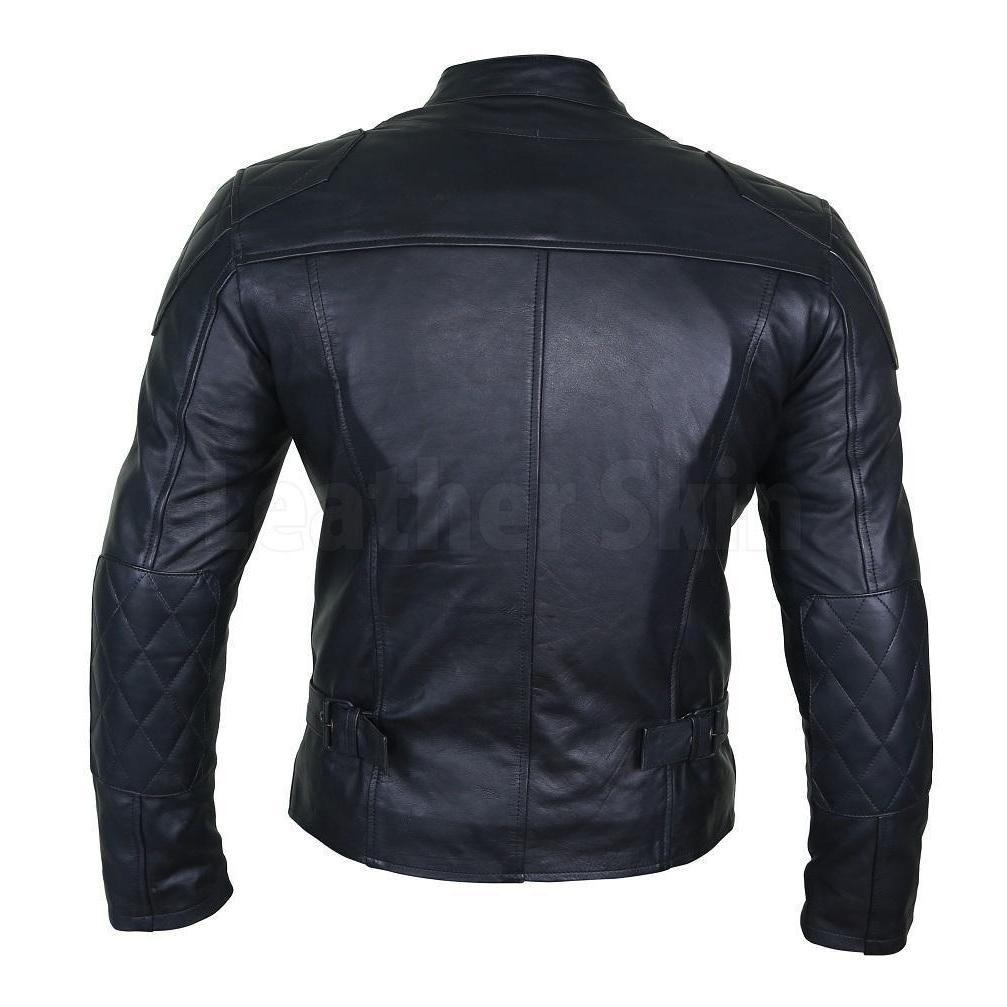 Leather Skin Men Black Cow Skin Biker Motorcycle Leather Jacket Leather Skin Leather Jacket Leather Jacket Men [ 1007 x 1007 Pixel ]