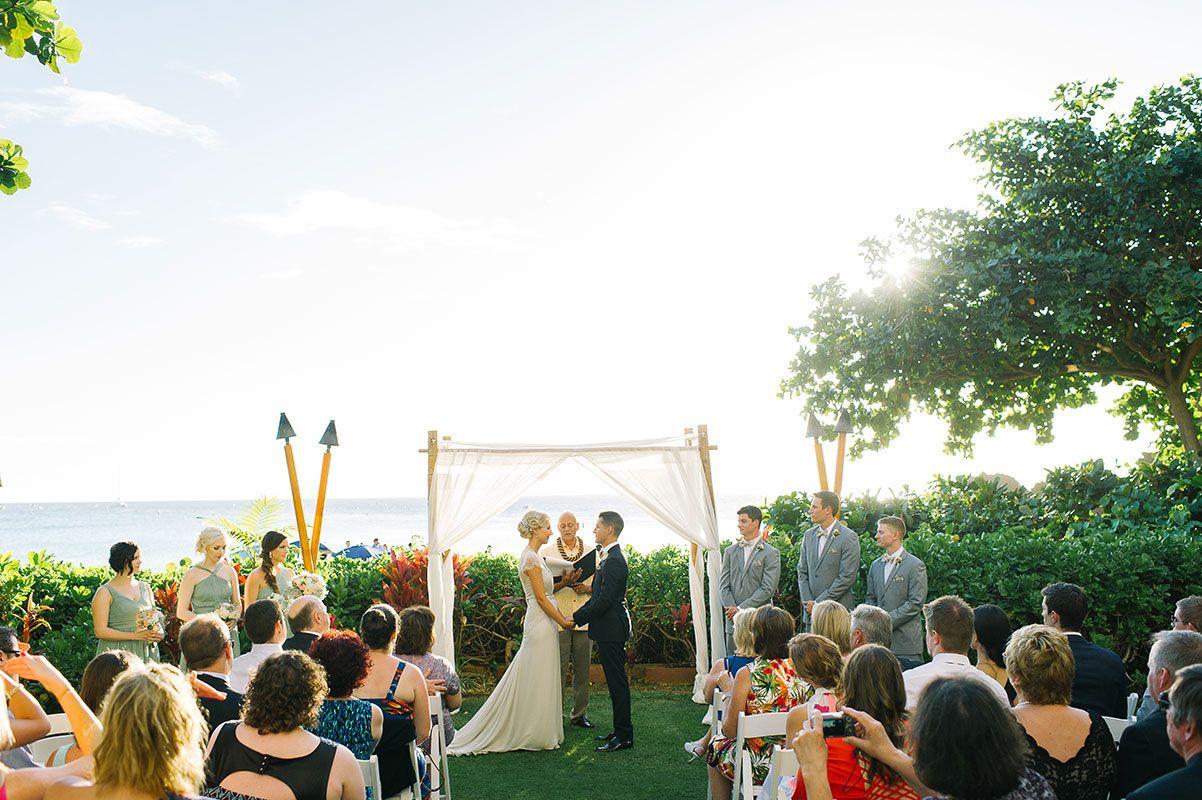 Sheraton Hotel Maui Hawaii wedding photography by Tara McMullen