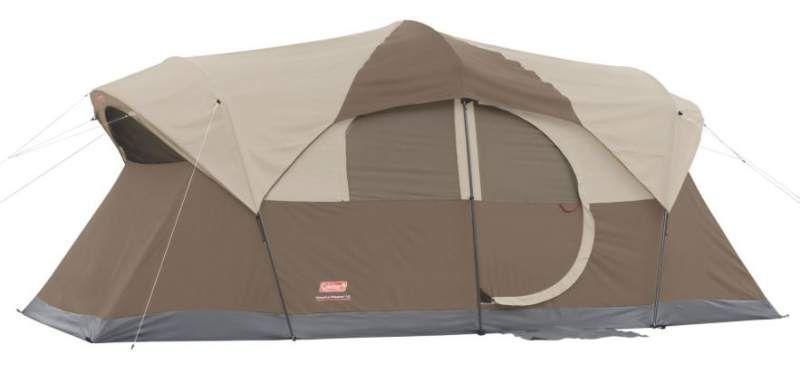 Coleman Weathermaster Tent 10 Person With Hinged Door 10 Person Tent Outdoor Tent Cabin Tent