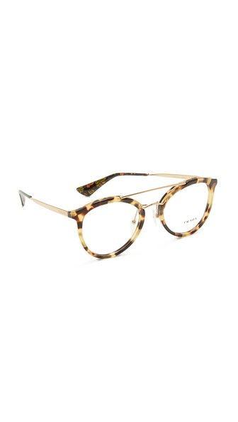 fd26df22b8a PRADA Brow Bar Glasses.  prada  glasses Dolce   Gabbana