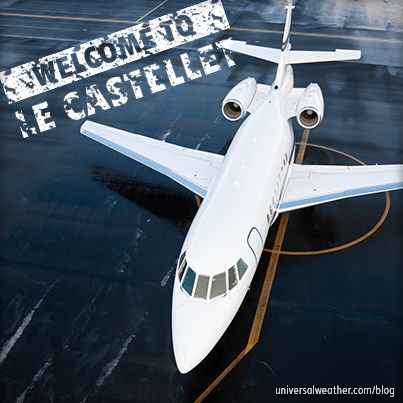 Business Aircraft Ops to the French Riviera via Le