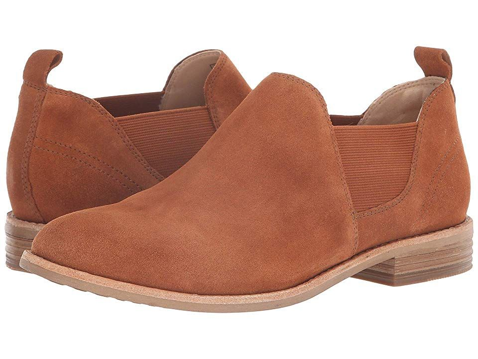 utterly stylish high quality best choice Clarks Edenvale Page (Dark Tan Suede) Women's Shoes. The ...