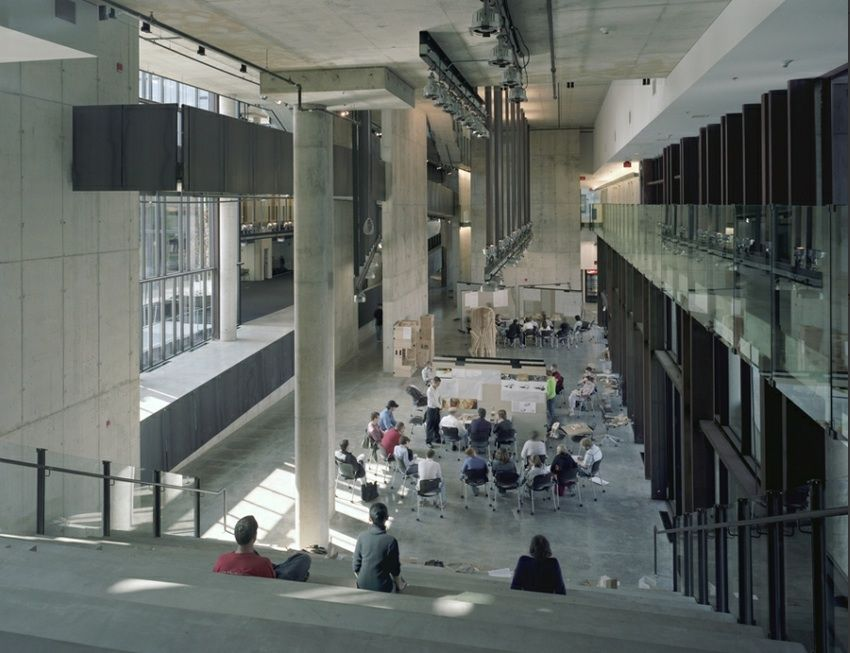 Bon Knowlton School Of Architecture, Ohio State University By Mack Scogin  Merrill Elam Architects