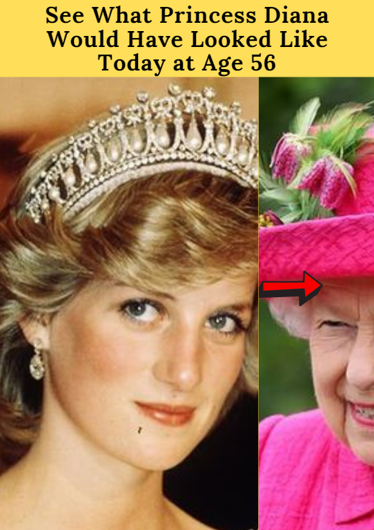 See What Princess Diana Would Have Looked Like Today at Age 56