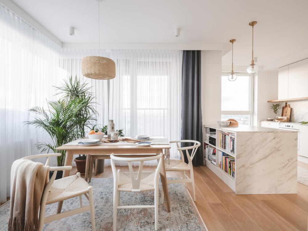 Wyspa Stol W Kuchni Z Plytek Wielkoformatowych Top Projekty Ih Internity Home Home Salas Decorar Com