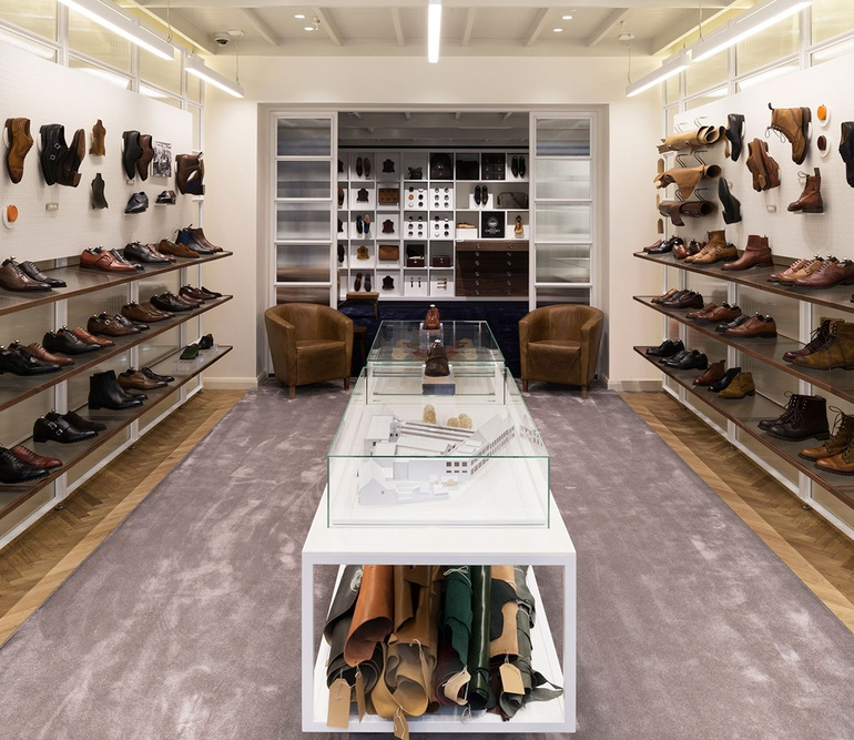 London Flagship for Cheaney Shoes