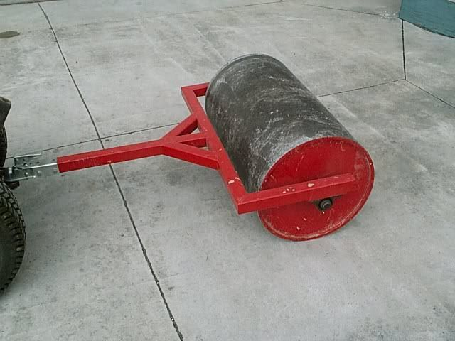 Home Made Lawn Roller Mytractorforum Com The Friendliest
