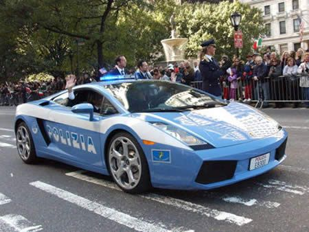 Super Cool Police Cars