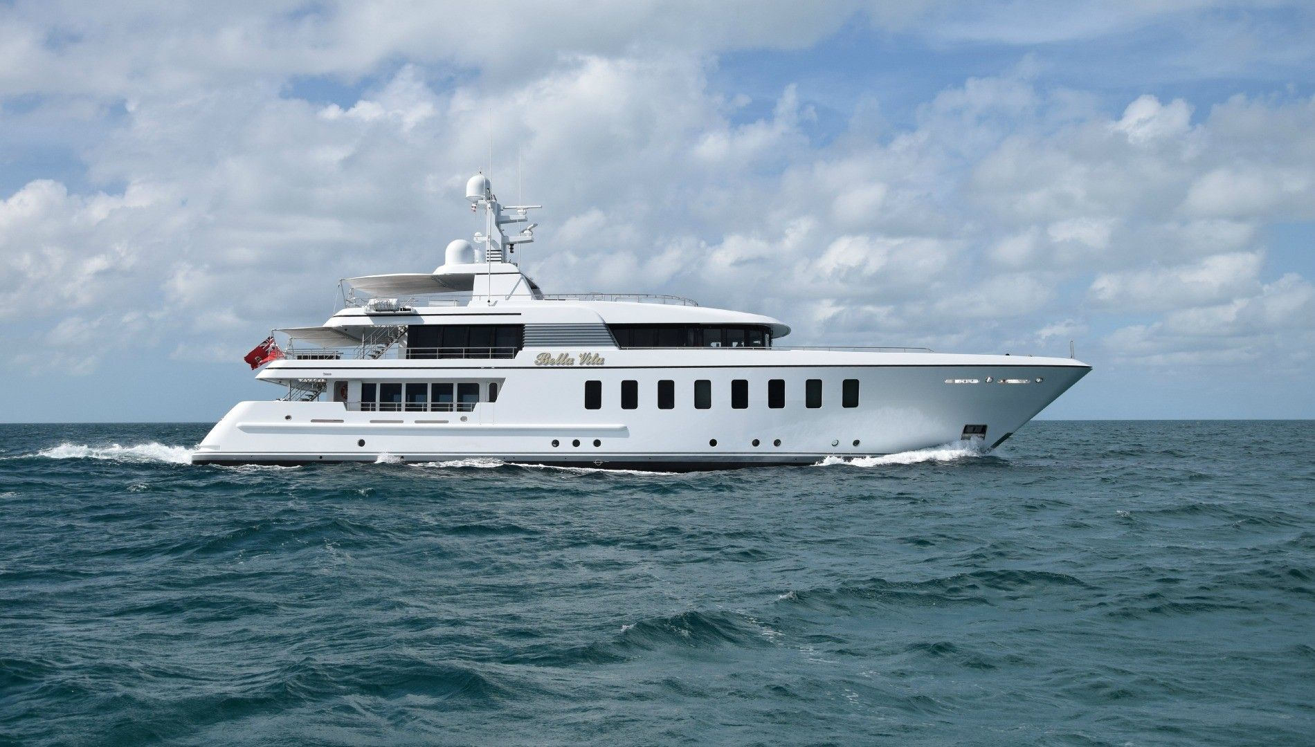 Luxury Yacht For Charter Bella Vita Our Mega On Emporium Yachts
