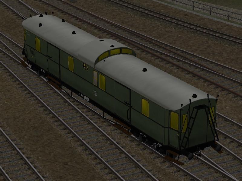DRG - Eilzug-Gepäckwagen, Pw4 pr04 - Set 2. Bis #EEP6 http://bit.ly/DRG-Eilzug-Gepäckwagen-Pw4-pr04-Set2