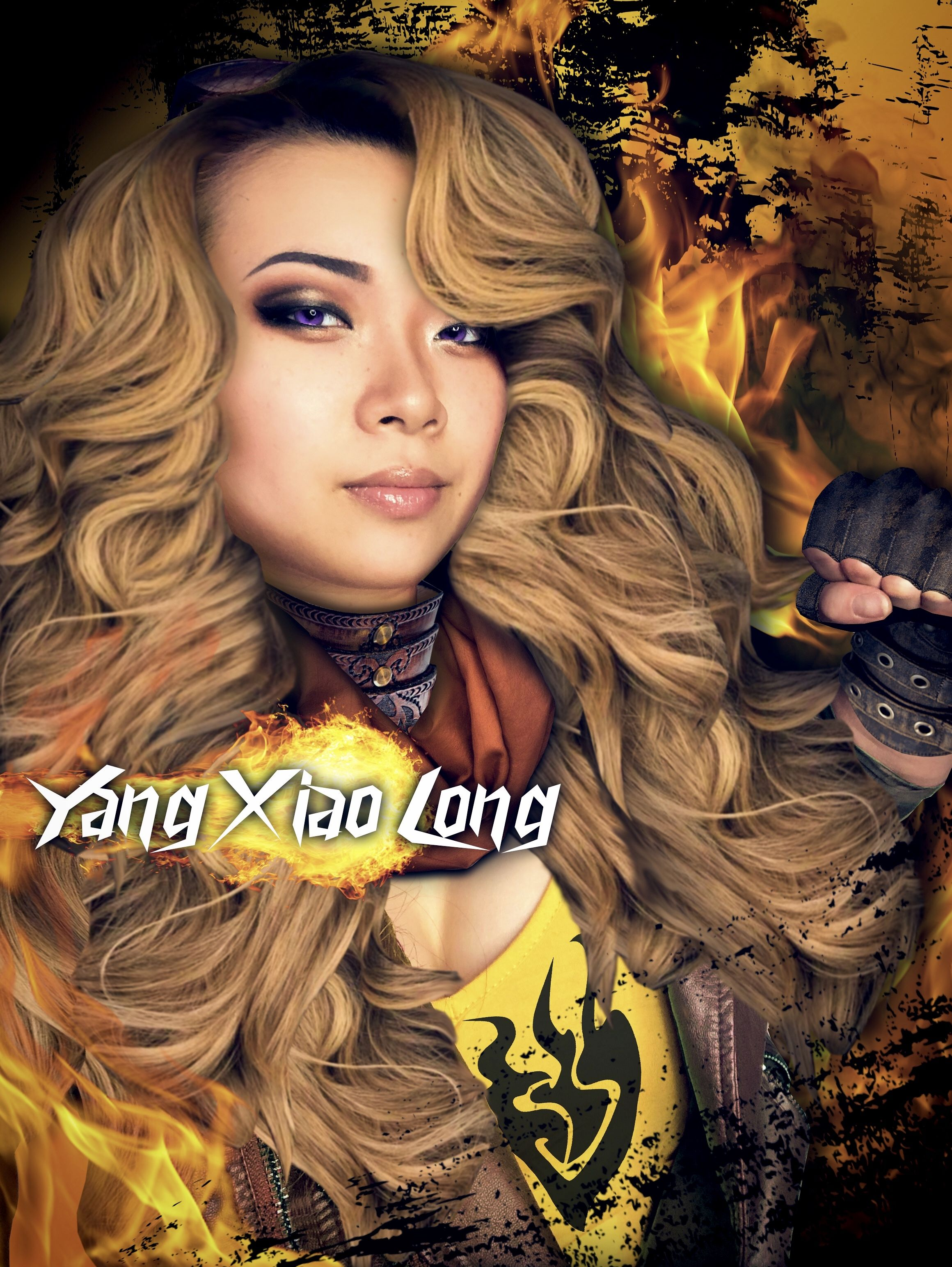 Yang Xiao Long anime cosplay from RWBY in 2020 Cosplay