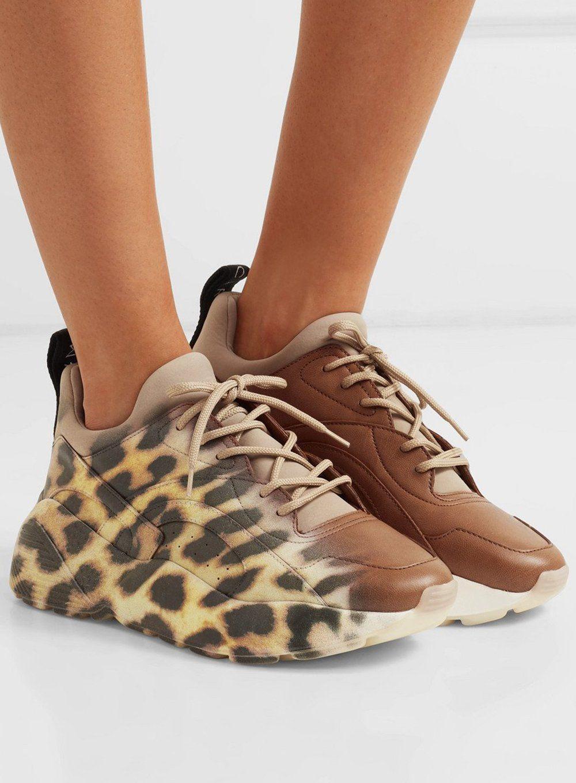 Eclypse Leopard-Print Faux Leather