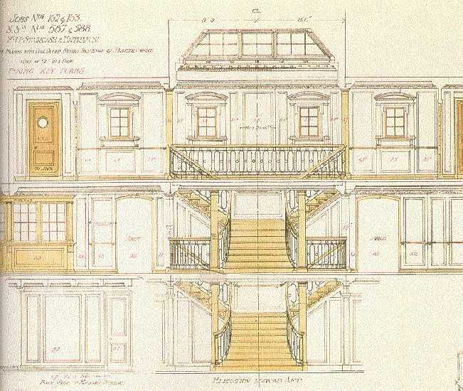 History Of The Interior Design: Interior Design Drawing Of The Titanic; The Titanic And