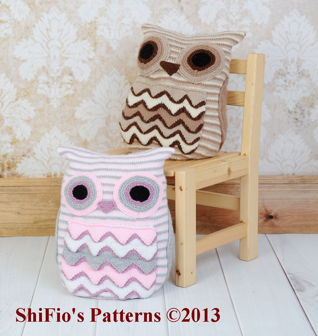 Owl cushion knitting pattern 239 knitting pinterest owl owl cushion knitting pattern 239 bankloansurffo Image collections