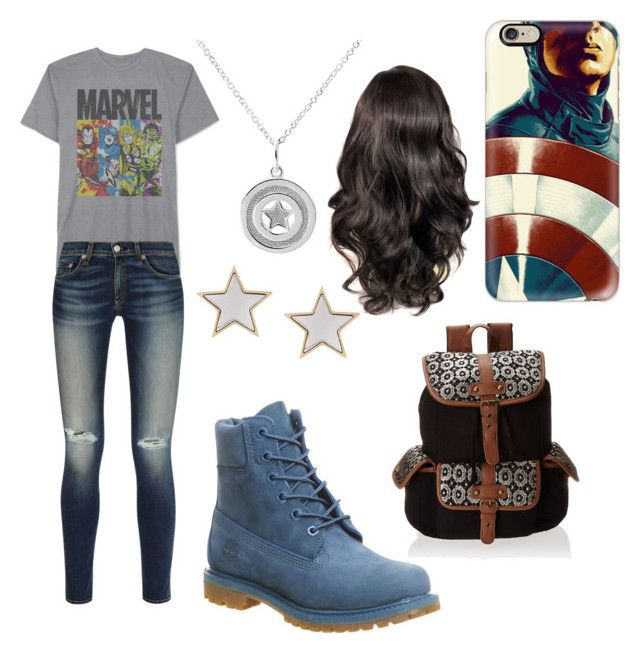 """""""Untitled #23"""" by jewell-wieber ❤ liked on Polyvore featuring JEM, rag & bone, Casetify, Givenchy, Timberland and Wild Pair"""