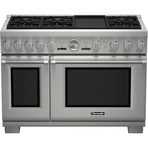 Self-Cleaning Freestanding Double Oven Gas