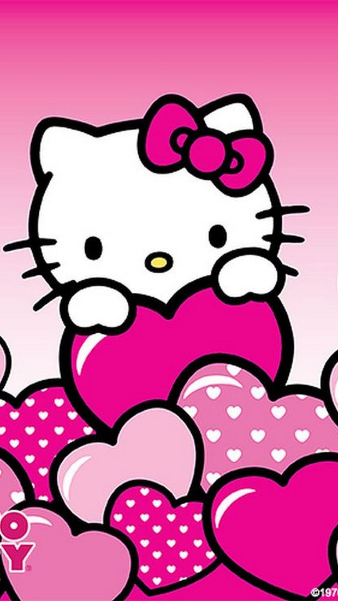 Wallpaper Iphone Hello Kitty 2019 3d Iphone Wallpaper Regarding