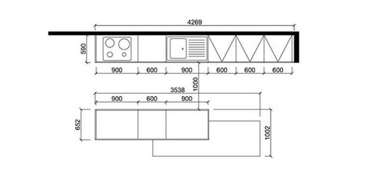 Dimension Standard Meuble De Cuisine Curtains Living Room Floor Plans Curtains
