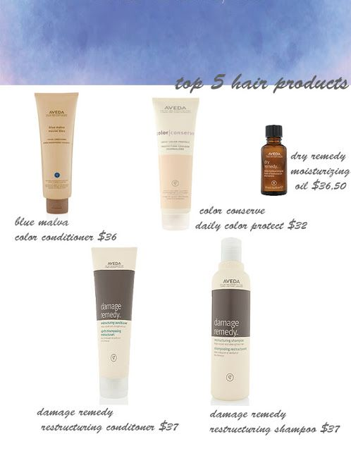 Top 5 Hair Products Color Conditioner Hair Aveda