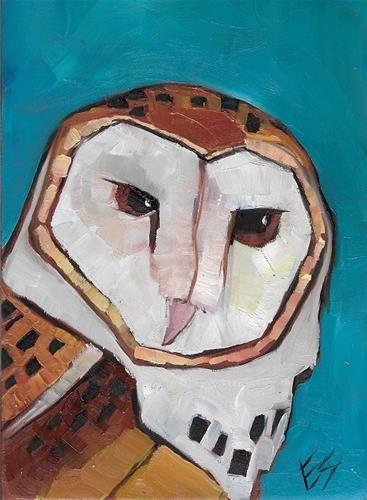 """""""Barn Owl"""" - Elizabeth See"""